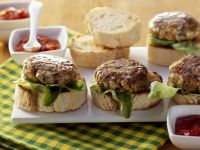 Beef and Tofu Burgers recipe