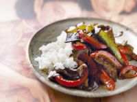 Beef and Veggie Saute recipe