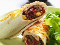 Beef Burrito Wraps recipe