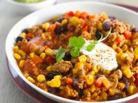 Beef Chili with Corn recipe