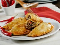 Beef-filled Pastry Pies recipe