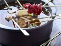 Beef Hot Pot with Dippers recipe