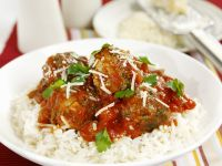 Beef Meatballs with Tomato Sauce recipe