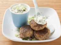 Beef Meatballs With Tzatziki recipe
