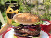 Beef Patty Buns with Onion recipe