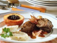 Beef Roulade with Dumplings recipe