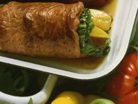 Beef Roulades with Pumpkin and Cabbage recipe