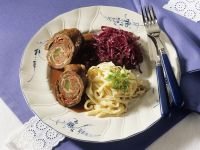 Beef Roulades with Red Cabbage recipe
