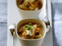 Beef Sauerkraut Soup recipe