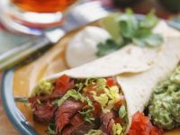 Beef Steak Burrito recipe