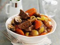 Beef Stew with Beer Sauce recipe