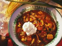 Beef Stew with Corn and Tomatoes recipe