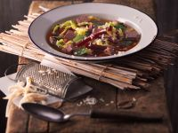 Beef Stew with Savoy Cabbage recipe
