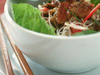 Beef Stir-Fry with Rice Noodles recipe