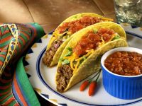 Beef Tacos with Salsa recipe