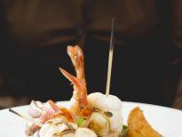 Beef Tenderloin and Jumbo Shrimp recipe