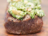 Beef Tenderloin with Herb and Nuts Crust recipe