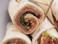 Beef Tortilla Rolls recipe