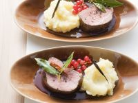 Beef with Black Currant and Cassis Sauce recipe