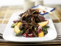 Stir-fried Steak with Vegetables recipe