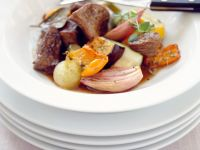 Beef with Roasted Vegetables recipe