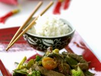 Classic Chinese Beef with Rice recipe