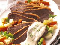Beef with Vegetables and Sauce recipe