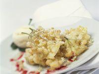 Beer Batter Fried Elderflowers recipe