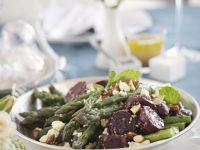 Beet and Asparagus Salad recipe