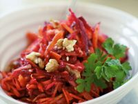 Beet and Nut Salad Bowl recipe