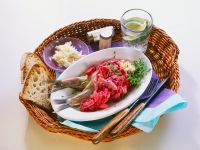 Beet and Oily Fish Platter recipe