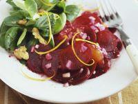 Beet and Orange Salad with Walnuts recipe
