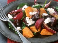 Beet and Soft Cheese Salad recipe