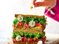 Beet Cream Cheese Sandwich recipe