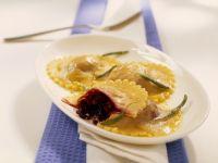 Beet Ravioli with Sage recipe