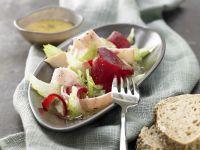 Beet Salad with Turkey Breast recipe