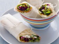 Beetroot and Ricotta Wraps recipe