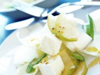 Belgian Endive Salad with Feta Cheese and Pear recipe