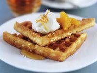 Belgian-style Breakfast Waffles recipe