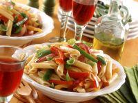 Bell Pepper Pasta Salad recipe