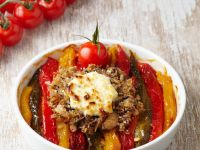 Bell Pepper Small Gratins recipe