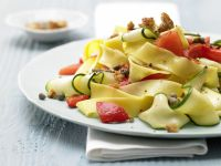 Bell Pepper-Zucchini Pasta recipe