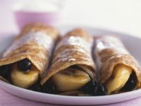 Berry and Banana Crepes recipe