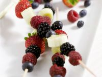 Berry and Banana Kebabs recipe