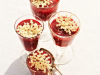Berry and Rhubarb Compote with Elderflower recipe