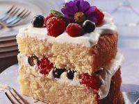 Berry Cake Slice recipe