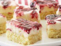 Berry Coconut Slices recipe