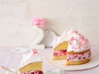 Berry Cream Sandwich Gateau recipe