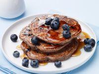 Berry Wheat Breakfast Cakes recipe