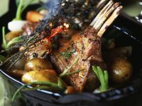 Best End of Lamb with Baby Turnips recipe